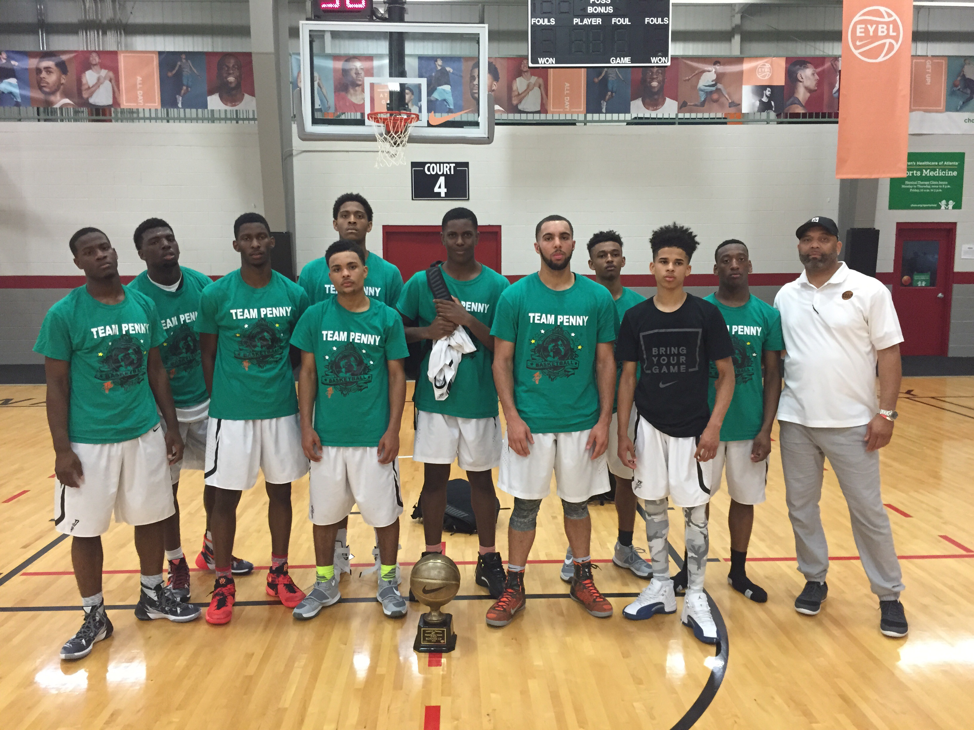 Team Penny Select 17u MDC 2016 Runner Up